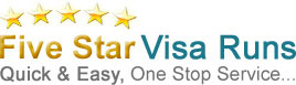 Five Star Visa Runs Logo